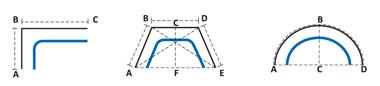 Сложные формы Системы Somfy Glydea Ultra, Somfy Movelite и Somfy Irismo WireFree